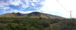 West Maui Mountains and Forest Preserve (Panorama), Maui, Hawaii, US