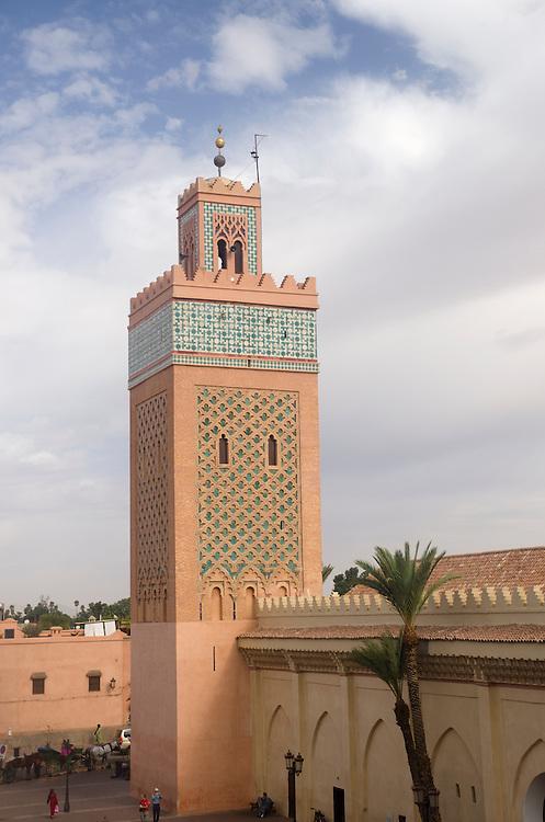 Kasbah mosque in Marrakech Morocco
