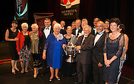 Rakaia Incorporation was named winner of the Ahuwhenua Trophy, BNZ Maori Excellence in Farming Award at the dinner at Claudelands Arena, Hamilton,  20 May 2016. Photo by John Cowpland / alphapix<br /> <br /> CONDITIONS of USE:<br /> <br /> FREE for editorial use in direct relation the Ahuwhenua Trophy competition. ie. not to be used for general stories about the finalist or farming.<br /> <br /> NO archiving of images. NO commercial use. <br /> Please contact John@alphapix.co.nz if you have any questions