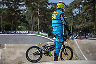 #241 (GOMMERS Ruben) BEL during practice at Round 5 of the 2018 UCI BMX Superscross World Cup in Zolder, Belgium