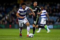 Massimo Luongo of Queens Park Rangers runs with the ball - Mandatory by-line: Robbie Stephenson/JMP - 07/04/2017 - FOOTBALL - Loftus Road - Queens Park Rangers, England - Queens Park Rangers v Brighton and Hove Albion - Sky Bet Championship