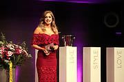 Moderatorin des Abends Jennifer Bosshard anlässlich der Glory-Verleihung 2018 am 12. Januar 2019 im Aura Club Zürich.