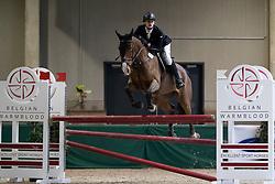 Swinnen Lander, BEL, Livingstone E<br /> Nationaal Indoor Kampioenschap Pony's LRV <br /> Oud Heverlee 2019<br /> © Hippo Foto - Dirk Caremans<br /> 10/03/2019