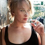 Milan, Italy, September 8, 2007. Lea Gramsdorff, Italian actress.
