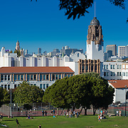 Mission High School and Dolores Park, San Francisco