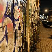NLD/Amsterdam/20110103 - Amsterdam bij nacht, Kerkstraat