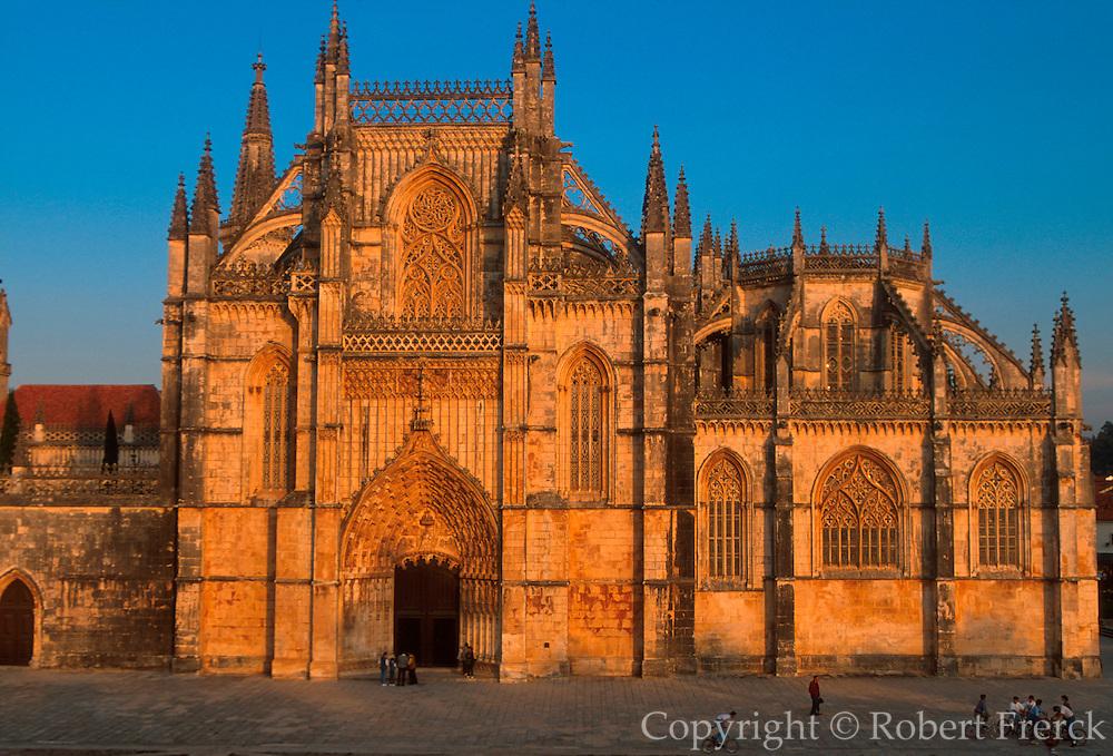 PORTUGAL, BATALHA ABBEY 'Manueline' style; front façade