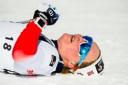 February 2, 2018 - Goms, SWITZERLAND - 180202 Julie Myhre of Norway after the women's 7,5/7,5 km skiathlon during the FIS U23 Cross-Country World Ski Championships on February 2, 2018 in Obergoms..Photo: Vegard Wivestad GrÂ¿tt / BILDBYRN / kod VG / 170095 (Credit Image: © Vegard Wivestad Gr¯Tt/Bildbyran via ZUMA Press)