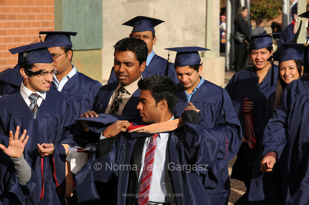 College graduation.