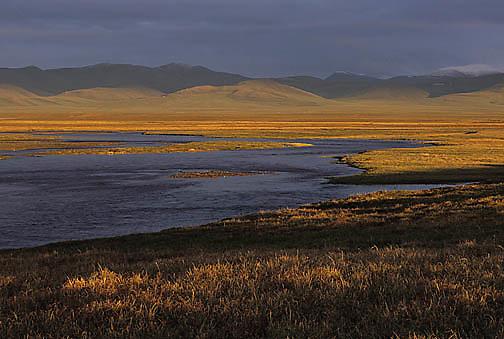 Alaska, Turner River in the Arctic National Wildlife Refuge. ANWR.