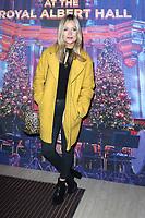 Laura Whitmore, Emma Bunton's Christmas Party, Royal Albert Hall, London, UK, 06 December 2019, Photo by Richard Goldschmidt