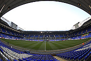 a General view of inside White Hart Lane Stadium before k/o. UEFA Europa League round of 16, 2nd leg match, Tottenham Hotspur v Borussia Dortmund at White Hart Lane in London on Thursday 17th March 2016<br /> pic by John Patrick Fletcher, Andrew Orchard sports photography.