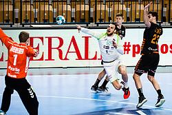 Borut Mackovsek of Slovenia during Men's EHF EURO 2022 Qualifiers between national teams Slovenia and Netherlands in Arena Zlatorog, Celje, Slovenia on 10. January, 2021. Photo by Grega Valancic