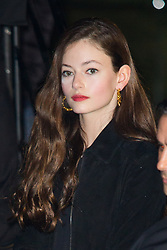 Mackenzie Foy arriving at Saint Laurent show during Ready To Wear A/W 2019-2020 as part of Paris Fashion Week on February 26, 2019 in Paris, France. Photo by Nasser Berzane/ABACAPRESS.COM