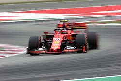May 11, 2019 - Montmelò.Montmel&#Xf2, Catalunya, Spain - xa9; Photo4 / LaPresse.11/05/2019 Montmelo, Spain.Sport .Grand Prix Formula One Spain 2019.In the pic: Charles Leclerc (MON) Scuderia Ferrari SF90 (Credit Image: © Photo4/Lapresse via ZUMA Press)