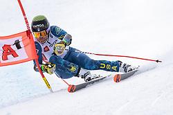 14.10.2021, Rettenbachferner, Sölden, AUT, OeSV Ski Alpin, RTL Training am Rettenbachferner, im Bild River Radamus (USA) // River Radamus of the USA during a training session in preparation for the upcoming FIS Alpine Skiing World Cup season at the Rettenbachferner in Sölden, Austria on 2021/10/14. EXPA Pictures © 2021, PhotoCredit: EXPA/ Johann Groder