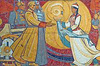 Mongolie, Oulan Bator, memorial de Zaisan // Mongolia, Ulan Bator, Zaisan memorial