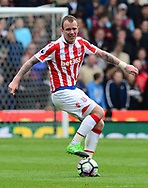 Glenn Whelan of Stoke city in action.  Premier league match, Stoke City v West Ham Utd at the Bet365 Stadium in Stoke on Trent, Staffs on Saturday 29th April 2017.<br /> pic by Bradley Collyer, Andrew Orchard sports photography.