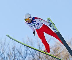 05.02.2011, Heini Klopfer Skiflugschanze, Oberstdorf, GER, FIS World Cup, Ski Jumping, Probedurchgang, im Bild Taku Takeuchi (JPN) , during ski jump at the ski jumping world cup Trail round in Oberstdorf, Germany on 05/02/2011, EXPA Pictures © 2011, PhotoCredit: EXPA/ P. Rinderer