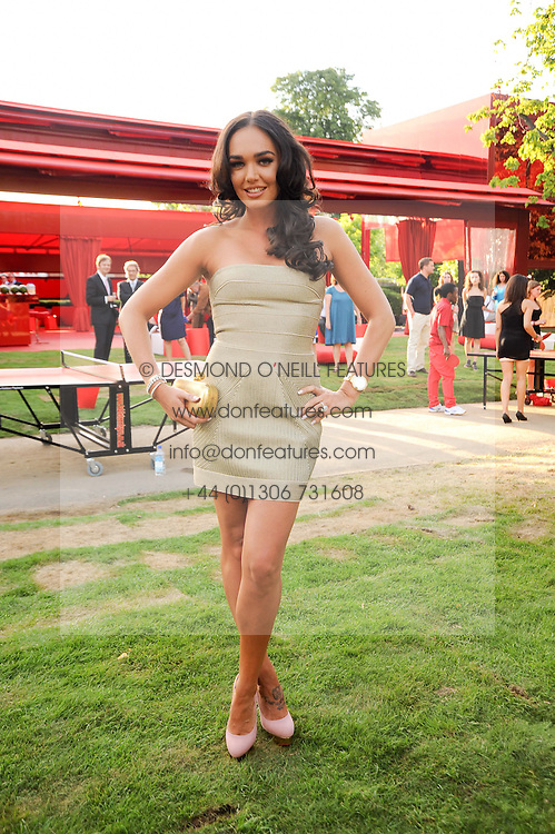 TAMARA ECCLESTONE at the annual Serpentine Gallery Summer party this year sponsored by Jaguar held at the Serpentine Gallery, Kensington Gardens, London on 8th July 2010.  2010 marks the 40th anniversary of the Serpentine Gallery and the 10th Pavilion.