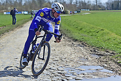 April 6, 2018 - France - LAMPAERT Yves  (BEL)  of Quick - Step Floors in action (Credit Image: © Panoramic via ZUMA Press)