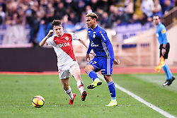 January 19, 2019 - Monaco, France - 17 ALEKSANDR GOLOVIN (MONA) - 27 KENNY LALA  (Credit Image: © Panoramic via ZUMA Press)