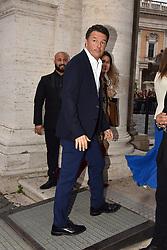 Rome, Piazza Del Campidoglio Event Gucci Parade at the Capitoline Museums, In the picture: Matteo Renzi