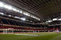 Photo: Richard Lane.<br />Wales v Paraguay. International Friendly. 01/03/2006. <br />An empty Millennium Stadium.