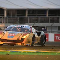 #84, JMW Motorsport, Ferrari 488 GTE, driven by: Robert Smith, Will Stevens, Dries Vanthoor, 24 Heures Du Mans 85th Edition, 18/06/2017,