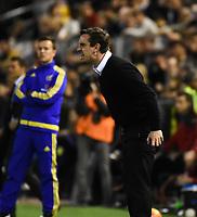 Valencia's    coach Gary Neville   during La Liga match. February 13, 2016. (ALTERPHOTOS/Javier Comos)