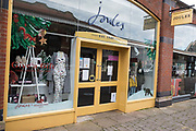 "A branch of fashion chain Joules is pictured on the second day of England's second coronavirus lockdown on 6 November 2020 in Windsor, United Kingdom. Only retailers selling ""essential"" goods and services are permitted to remain open to the public during the second lockdown but Joules has reported a 35% increase in online sales in 2020."