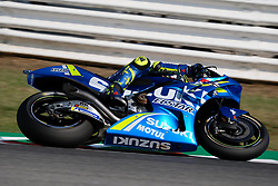 September 7, 2018 - Misano Adriatico, Ialy, Italy - 29 ANDREA IANNONE from Italy, Suzuki Ecstar Team, Suzuki GSX-RR, Gran Premio Octo di San Marino e della Riviera di Rimini, during the Friday FP1 at the Marco Simoncelli World Circuit for the 13th round of MotoGP World Championship, from September 7th to 9th - Photo by Felice Monteleone - NurPhoto  (Credit Image: © Felice Monteleone/NurPhoto/ZUMA Press)