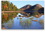 Jordan Pond at Acadia National Park, Maine, USA