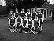 15/02/1958<br /> 02/15/1958<br /> 15 February 1958<br /> Hockey: Ladies, Irish Universities v Scottish Universities, Dartry, Dublin. The Irish team.