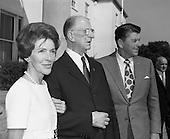 1972 - President DeValera Greets The Reagans.