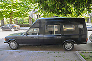 A black hearse Photographed in Batumi, Georgia