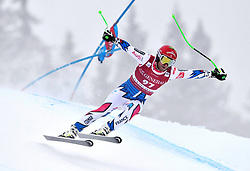 03.03.2019, Olympiabakken, Kvitfjell, NOR, FIS Weltcup Ski Alpin, SuperG, Herren, im Bild Blaise Giezendanner FRA //  in action during his run in the men's Super-G of FIS ski alpine world cup.  Olympiabakken in Kvitfjell, Norway on 2019/03/03. EXPA Pictures © 2019, PhotoCredit: EXPA/ SM<br /> <br /> *****ATTENTION - OUT of GER*****