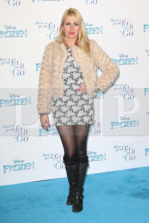 Nancy Sorrell, Frozen Sing-Along - VIP film screening, Royal Albert Hall, London UK, 17 November 2014, Photo by Richard Goldschmidt ©under licence to London News Pictures. +44 (0)208 408 0190