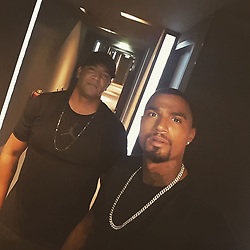 """Kevin-Prince Boateng releases a photo on Instagram with the following caption: """"Schattenbruder @btng65 \ud83d\ude4c\ud83c\udffe\ud83d\ude4c\ud83c\udffe\ud83d\udca5\ud83d\udca5"""". Photo Credit: Instagram *** No USA Distribution *** For Editorial Use Only *** Not to be Published in Books or Photo Books ***  Please note: Fees charged by the agency are for the agency's services only, and do not, nor are they intended to, convey to the user any ownership of Copyright or License in the material. The agency does not claim any ownership including but not limited to Copyright or License in the attached material. By publishing this material you expressly agree to indemnify and to hold the agency and its directors, shareholders and employees harmless from any loss, claims, damages, demands, expenses (including legal fees), or any causes of action or allegation against the agency arising out of or connected in any way with publication of the material."""