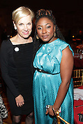 New York, NY-October 5:  (L-R) Cecile Richards, President, Planned Parenthood and Alicia Garza, Co-founder, Black Lives Matter attends the ColorOfChange.org's 10th Anniversary Gala held at Gotham Hall on October 5, 2015 in New York City.  Terrence Jennings/Retna Ltd