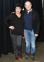 Denise Welch & Lincoln Townley, Centrepoint's Ultimate Pub Quiz 2017, Village Underground, London UK, 07 February 2017, Photo by Brett D. Cove