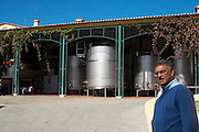 stainless steel tanks Francisco Fino owner monte da penha alentejo portugal