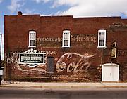 Coca Cola advertisement, Lebanon, Tennessee
