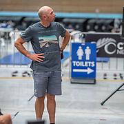3:50 PM- Concept2 #37 Heat 1- Men?s 500m U15<br /> <br /> NZ Indoor Champs, raced at Avanti Drome, Cambridge, New Zealand, Saturday 23rd November 2019 © Copyright Steve McArthur / @rowingcelebration www.rowingcelebration.com