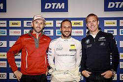September 8, 2017 - NŸRburgring, Germany - Motorsports: DTM race Nuerburgring, Saison 2017 - 7. Event Nuerburgring, GER.# 33 Rene Rast (GER, Audi Sport Team Rosberg, Audi RS5 DTM), # 2 Gary Paffett (GBR, Mercedes-Benz, HWA AG, Mercedes-AGM C63 DTM), # 36 Maxime Martin (BEL, BMW Team RBM, BMW M4 DTM) (Credit Image: © Hoch Zwei via ZUMA Wire)