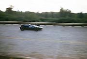 Formula One motor racing Italian Grand prix Monza, Sept 1961 thought to be Roy Salvadori, Cooper-Climax car