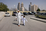 Dubai .on the  way to  friday prayers