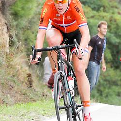 27-09-2014: Wielrennen: WK weg junioren en vrouwen: Ponferrada<br /> WIELRENNEN PONFERRADA SPAIN ROAD RACE WOMEN<br /> Ellen van Dijk