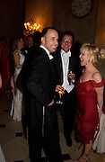 David Furnish, Will turner and Lulu, Ball at Blenheim Palace in aid of the Red Cross, Woodstock, 26 June 2004. SUPPLIED FOR ONE-TIME USE ONLY-DO NOT ARCHIVE. © Copyright Photograph by Dafydd Jones 66 Stockwell Park Rd. London SW9 0DA Tel 020 7733 0108 www.dafjones.com