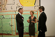 SIR NICHOLAS SEROTA; LARA WARDLE, Opening reception of the Jerwood Gallery. The Stade, Hastings. 16 March 2012.